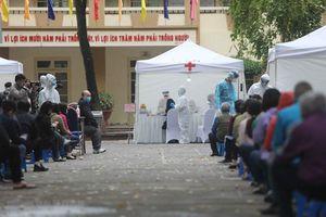 10 trạm test có kết quả trong 10 phút tại các phường gần BV Bạch Mai