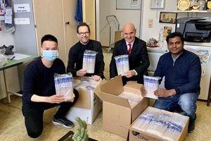 Việt Nam và Đức cùng nghiên cứu thuốc điều trị COVID-19