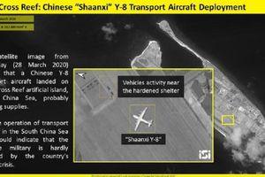 Trung Quốc ngang nhiên đưa máy bay quân sự ra quần đảo Trường Sa