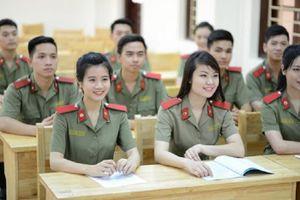 Tuyển sinh các trường công an: Nhiều ngành không lấy thí sinh nữ