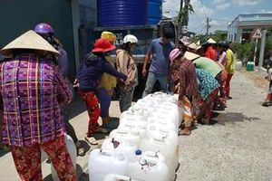 Hỗ trợ giải quyết nước sinh hoạt phục vụ chống hạn mặn Đồng bằng sông Cửu Long