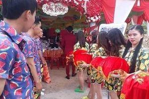 Nam thanh, nữ tú đi bê tráp đám cưới nhưng lại làm điều này khiến dân mạng 'dậy sóng'