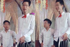 Xuất hiện cặp bê tráp 'đũa lệch' của cô dâu chú rể Hà thành khiến dân mạng 'cười chảy nước mắt'