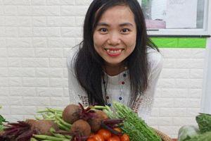 Liên kết nông dân trồng rau theo tiêu chuẩn Nhật