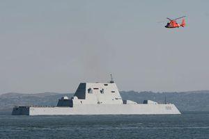 Vì sao tàu khu trục Mỹ USS Zumwalt trở thành 'sát thủ diệt hạm tàng hình'?