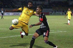 Giải vô địch quốc gia Indonesia chung số phận với V-League