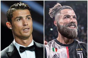 Vẻ ngoài của Ronaldo, Mbappe với bộ râu rậm