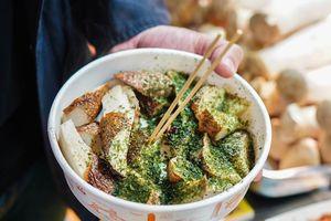 Nấm đùi gà nướng ngọt thơm - món ăn đường phố trứ danh Đài Loan
