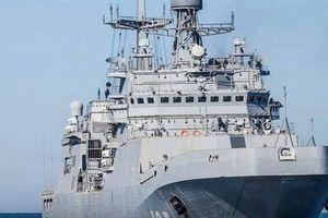 Tàu đổ bộ Dự án 11711 của Nga lại chậm tiến độ