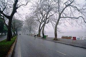 Miền bắc mưa phùn và sương mù diện rộng