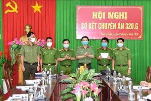 Biểu dương lực lượng phá vụ án giết người tại chùa Quảng Ân