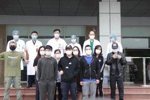 12 bệnh nhân mắc Covid-19 được xuất viện