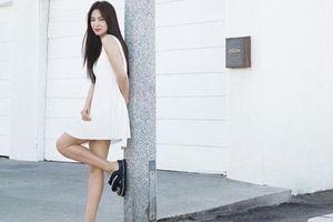 Lần hiếm hoi Song Hye Kyo diện váy ngắn gợi cảm