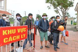 Những công dân đầu tiên ở Nghệ An về nhà khi hết cách ly 14 ngày