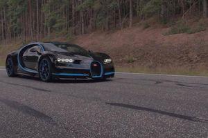 Đoạn video hơn 100 triệu lượt xem về màn tăng tốc của Bugatti Chiron