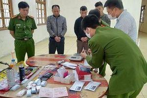 Bắt giam nhóm đối tượng mua bán trái phép ma túy