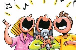 Bi hài chuyện hát karaoke vì phải ở nhà mùa dịch Covid-19