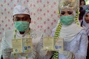 Muôn màu đám cưới giữa mùa dịch Covid-19 trên đảo quốc Indonesia