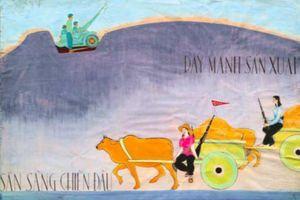 Bảo tàng Mỹ thuật Việt Nam giới thiệu chùm tranh cổ động sáng tác trong giai đoạn 1967-1978