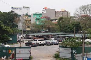 Bãi xe không phép bủa vây khu đô thị Kim Văn- Kim Lũ