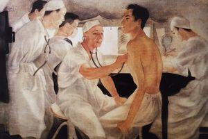 Giữa mùa dịch Covid-19, nhớ tác phẩm tôn vinh 'Chiến sĩ áo trắng' của Trần Đông Lương