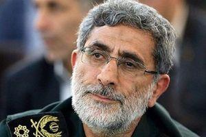 Giữa căng thẳng với Mỹ, Tư lệnh đặc nhiệm Quds Iran bí mật tới Iraq