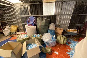 Phát hiện hai cơ sở tái chế khẩu trang y tế