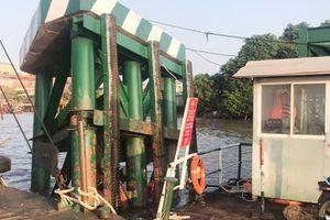 Mất hơn 3 tháng khắc phục sự cố tàu va chạm tại phà Cát Lái