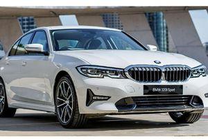 Lộ trang bị trên BMW 320i mới sắp bán tại Việt Nam