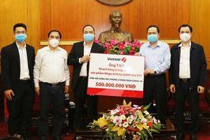 Vietlott và chủ nhân Jackpot 62,2 tỷ chung tay phòng chống dịch COVID-19