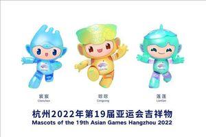 Trung Quốc công bố các linh vật của ASIAD 2022 Hàng Châu