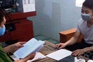 Nam thanh niên Nghệ An tung tin bị nhiễm Covid-19 để cho oai