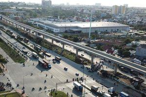 Cuối năm 2020 tuyến Metro Bến Thành - Suối Tiên đạt 85% khối lượng