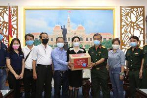 Công ty CP Đầu tư SK đồng hành cùng Báo Người Lao Động chung tay phòng, chống dịch Covid-19