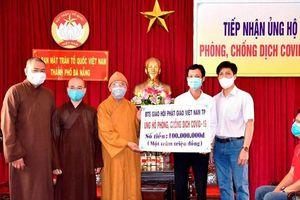 Phật giáo Đà Nẵng chung tay phòng chống dịch Covid-19