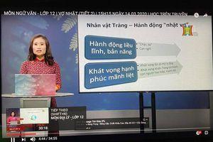 Chi tiết lịch phát sóng tuần từ 6/4/2020 đến 11/4/2020 Chương trình dạy học trên truyền hình