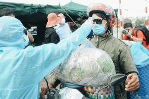 Dựng lều dã chiến kiểm soát dịch tại các cửa ngõ Sài Gòn, phát hiện 3 người có thân nhiệt cao