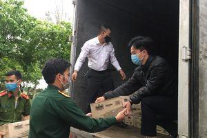 TNI-King Coffee ủng hộ quà gần 2 tỷ đồng chống dịch