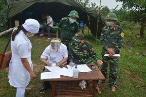 Cách ly người nhập cảnh trái phép từ Lào về Việt Nam
