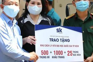Báo Người Lao Động 'Cùng cộng đồng chung tay phòng chống dịch': Những món quà nghĩa tình