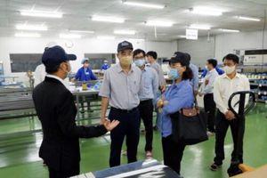 Đà Nẵng: Kiểm tra công tác phòng chống dịch Covid-19 tại một số doanh nghiệp