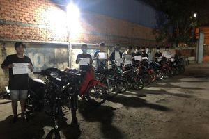 Vây bắt 20 'quái xế' đua xe trái phép tại Tây Ninh