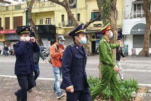 Hà Nội: Lo ngại bị phạt, người dân hạn chế ra đường ngày nghỉ cuối tuần