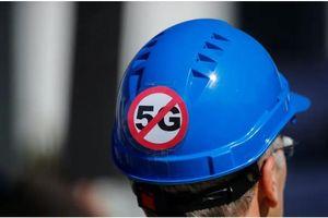 Nhiều cột phát sóng mạng 5G ở Anh bị đốt vì tin giả về COVID-19