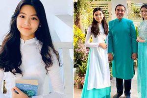 Bà xã Quyền Linh chúc mừng con gái lớn Lọ Lem chính thức bước sang tuổi 14, nhan sắc ngày càng xinh đẹp lộng lẫy