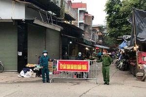 Huyện Mê Linh lập chốt cách ly toàn bộ xóm có bệnh nhân Covid-19, hỏa tốc lập danh sách F1