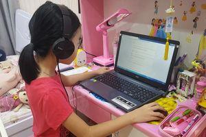 Học trực tuyến ở tiểu học: Mỗi trường mỗi kiểu