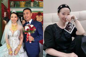 Cô dâu Hậu Giang 'đeo 30 cây vàng' khoe sắp sinh con đầu lòng