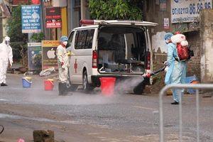 Hà Nội: Phong tỏa, khử khuẩn nơi phát hiện ca mắc Covid-19 tại huyện Mê Linh