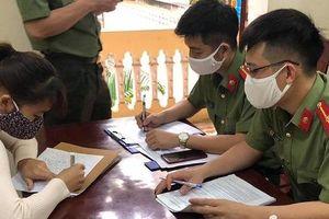 Nghe nói người về từ Hà Nội biểu hiện ho và sốt, cô gái trẻ liền loan tin có ca mắc Covid-19